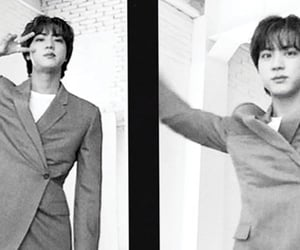 bts, seokjin, and jin image