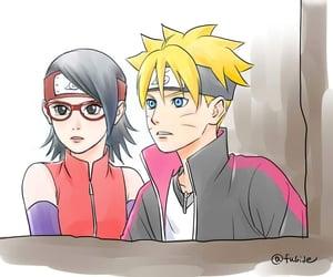 anime, sakura, and naruto image