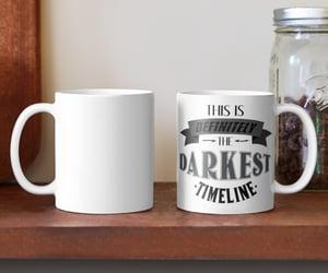 digital art, mug, and typography image