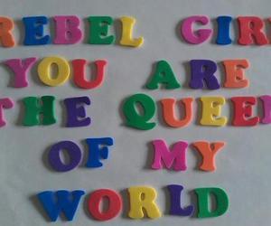 rebel, Queen, and rebel girl image
