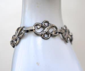 Art Nouveau, etsy, and link bracelet image