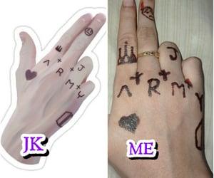 eid mubarak, henna, and jk image
