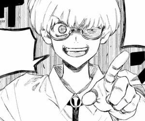 ghoul, icon, and manga boy image