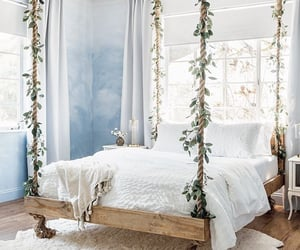 home design, bed, and home image