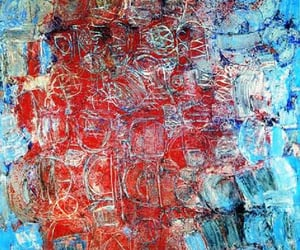 Abstract Painting, artworks, and british artist image