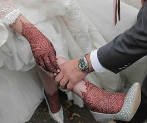 henna, wedding, and 💒 image
