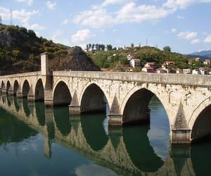 bridge, bosnia and herzegovina, and balkan image