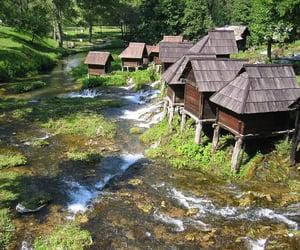 balkan, europe, and waterfalls image