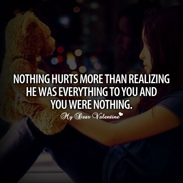 Nothing Hurts More Than Picture Quotes Mydearvalentinecom