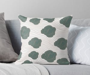 art, green, and home decor image