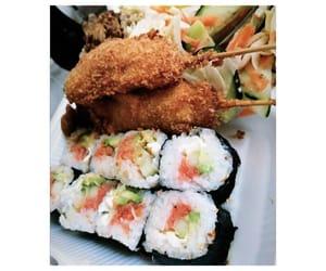 sushi, comida, and lunch image
