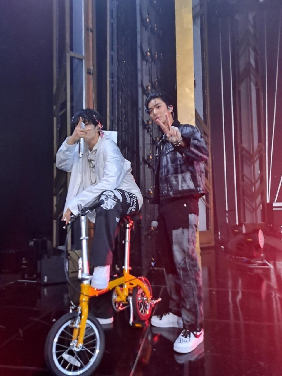 sunwoo, the boyz, and hwiyoung image