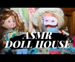 doll, doll house, and miniature house image
