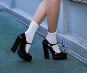 90s, heels, and platform image