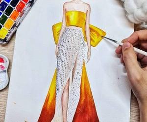 dibujo, moda, and arte image