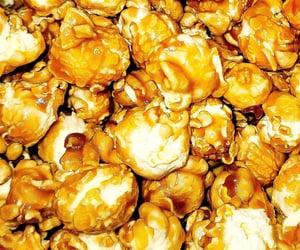 caramel, maryland, and popcorn image