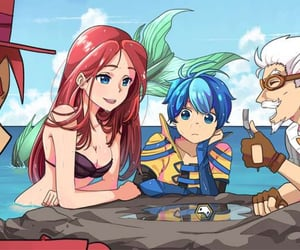 ariel and anime image