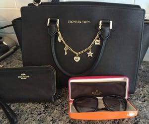 bag, mk, and sunglasses image