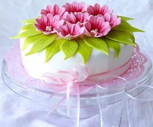 Oh my god Flower creamy cake