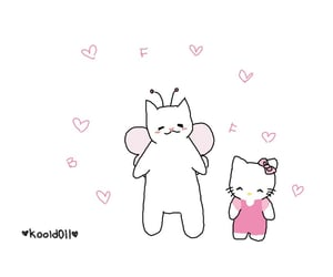 art, hello kitty, and quote image