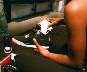sneakers, basket, and jordan image