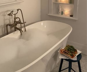 self care, bath, and bath time image