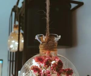black, dekoration, and flowers image
