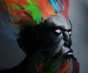 art, fantasy, and multicolor image
