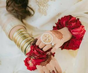 bangles, dress, and glam image