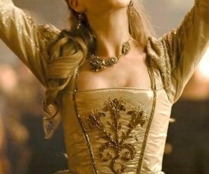anne boleyn, elizabeth I, and gold image