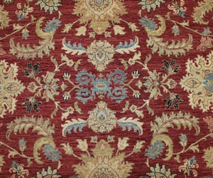 home decor, hand knotted rugs, and transitional rugs image