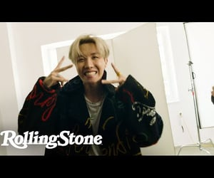 icons, bts, and rolling stone image
