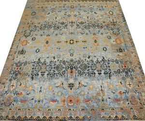 home decor, transitional rugs, and hand-knotted rugs image