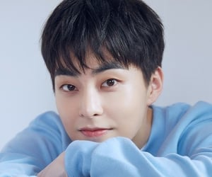 exo, xiumin, and kim minseok image