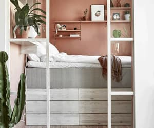 A small bedroom with storage drawers underneath to save space (photo:    Jonas Gustavsson   )
