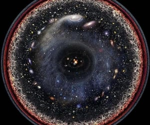 observable universe and one image image