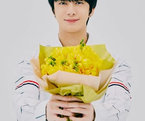 6 years, cute boy, and flowers image