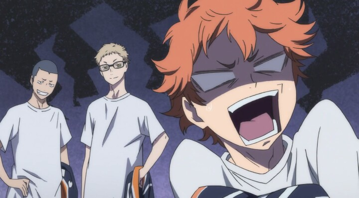 anime, haikyuu, and hinata shouyou image
