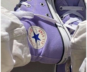 converse, violet, and lilac image