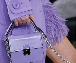 fashion, style, and lila image