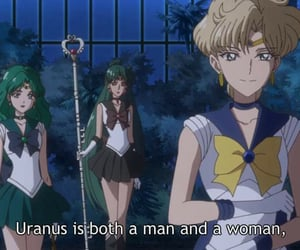 anime, woman, and sailor neptune image