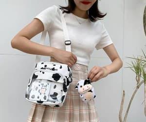 bag, cow, and crossbody image