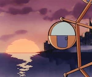 Sunset Ferris Wheel