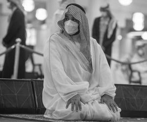 arabic, black and white, and saudi image