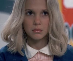 stranger things, eleven, and gif image