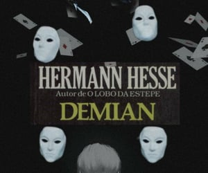 book, demian, and edit image