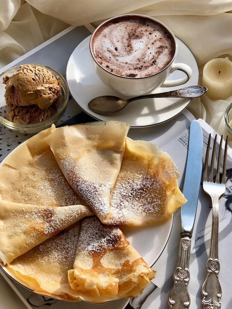 crepes, delicious, and yes image