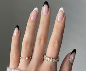 diamonds, nails, and style image