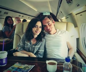 Kevin Zegers, lily collins, and mirror mirror image