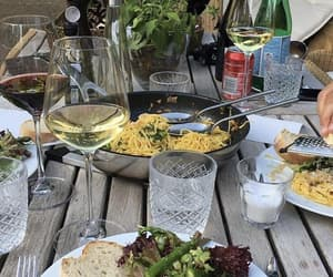 food, drinks, and pasta image